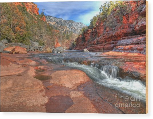 Red Rock Sedona Wood Print