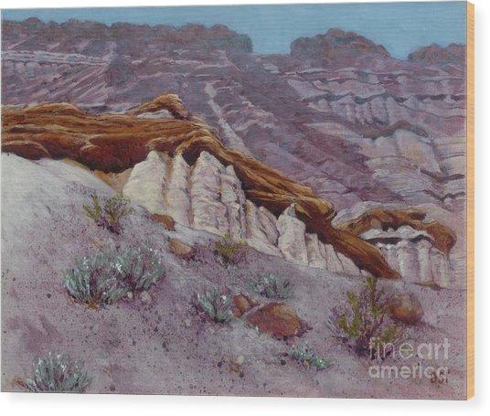 Red Rocks - High Noon Wood Print