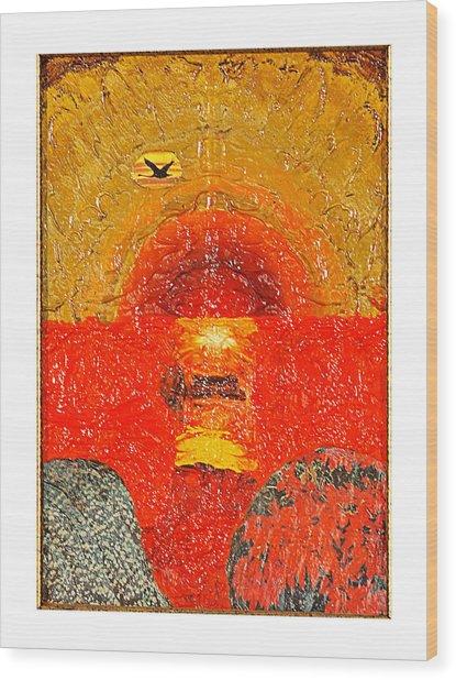 Red Sea Wood Print by Howard Goldberg