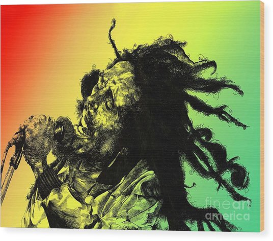 Redemption Song Wood Print