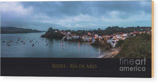 Redes Ria De Ares La Coruna Spain Wood Print