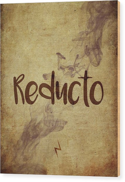 Reducto Wood Print
