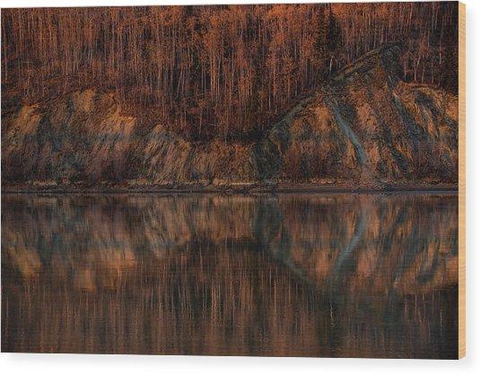 Reflect Wood Print