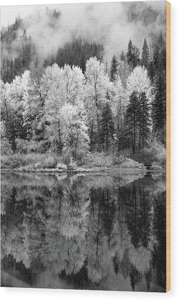 Reflected Glories Wood Print