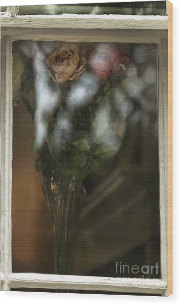 Reflecting On My Love Wood Print