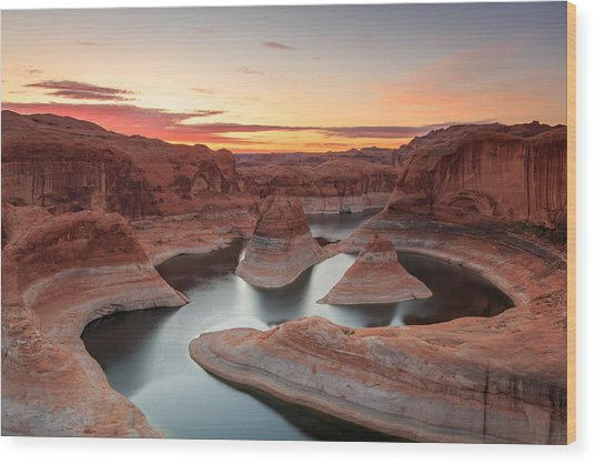 Reflection Canyon Wood Print