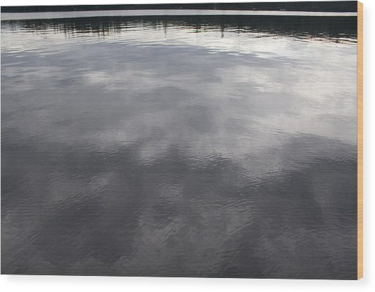 Reflection Wood Print by Jeff Porter