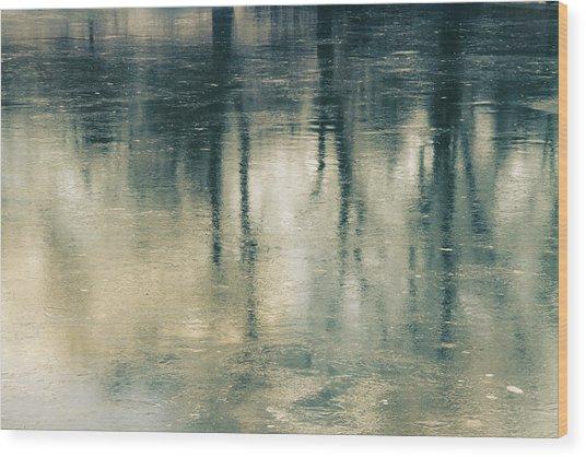Reflection Wood Print by Ken Yan