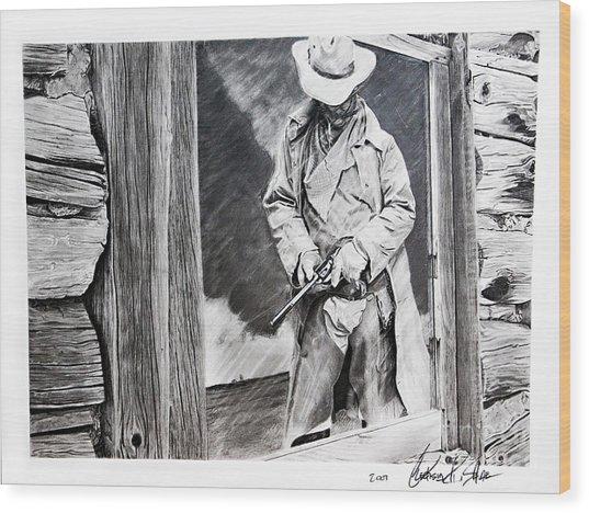 Reflection Wood Print by Raymond Potts