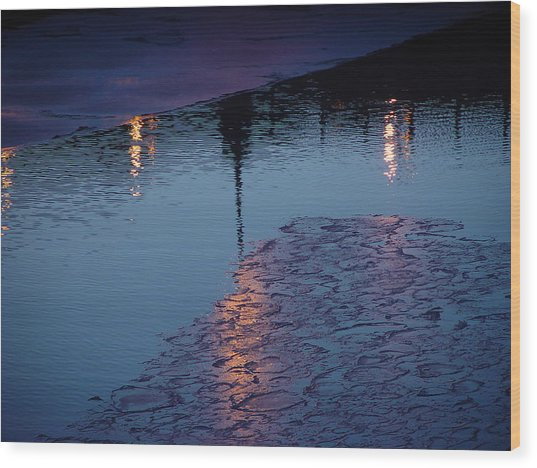 Reflections Wood Print by Eric Workman