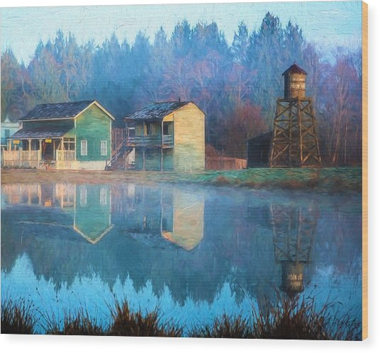 Reflections Of Hope - Hope Valley Art Wood Print