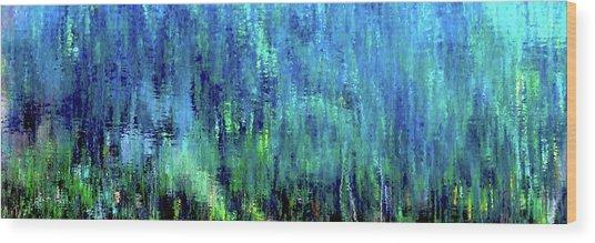 Reflections Of Monet 8155 H_12 Wood Print