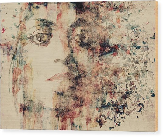 Reflections  Wood Print by Paul Lovering