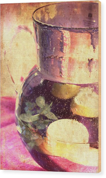 Refreshment Wood Print