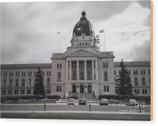Regina Legislative Building Wood Print