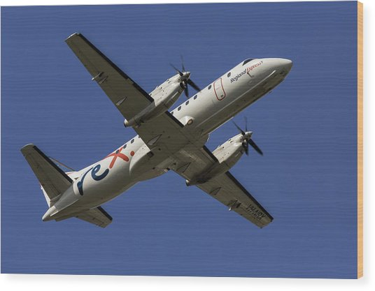 Regional Express Saab 340 Wood Print