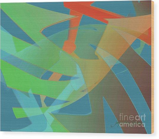 Relationship Dynamics Wood Print