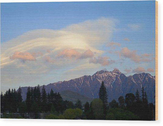 The Remarkables Wood Print