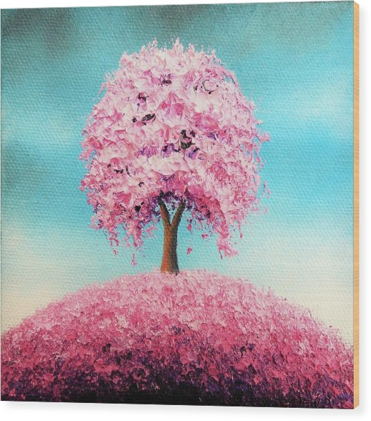 Remember The Bloom Wood Print