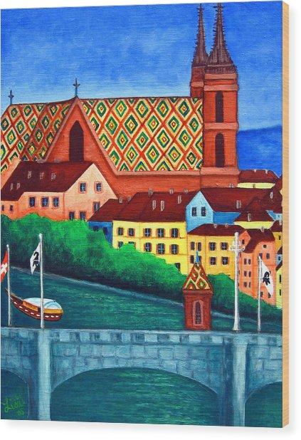 Remembering Basel Wood Print