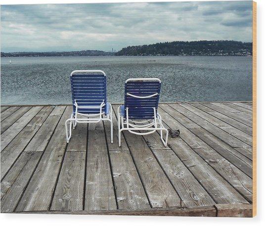 Remembering Summer. Wood Print by Anastasia Michaels