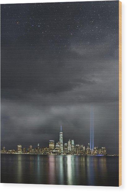 Remembrance  Wood Print