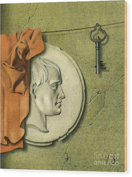Reminiscences Of History Wood Print