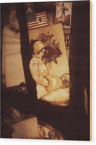 Remnants Of 1919 Wood Print by Jill Baker