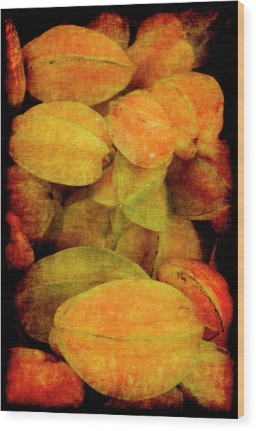 Renaissance Star Fruit Wood Print