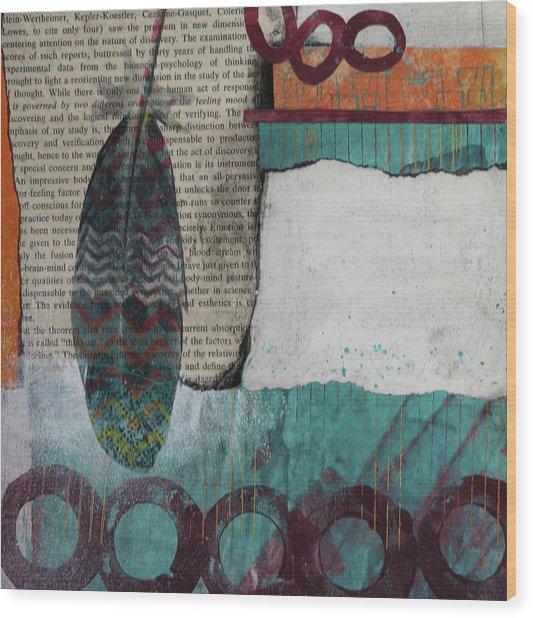 Reorienting  Wood Print