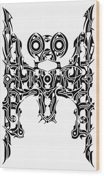 Requiem I Wood Print by David Umemoto