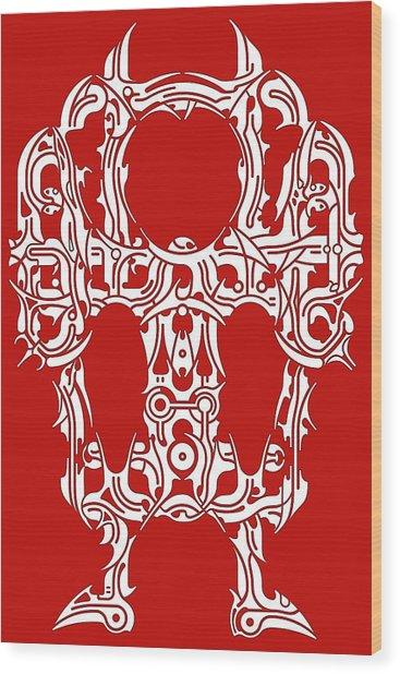 Requiem II Wood Print by David Umemoto