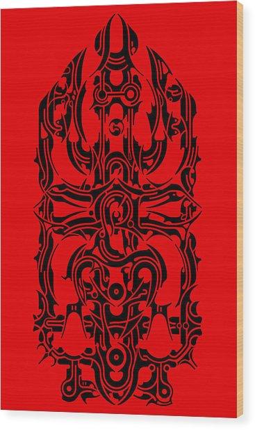 Requiem IIi Wood Print by David Umemoto