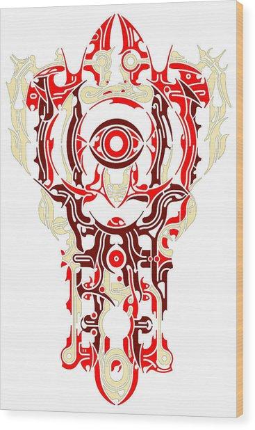 Requiem Vi Wood Print by David Umemoto