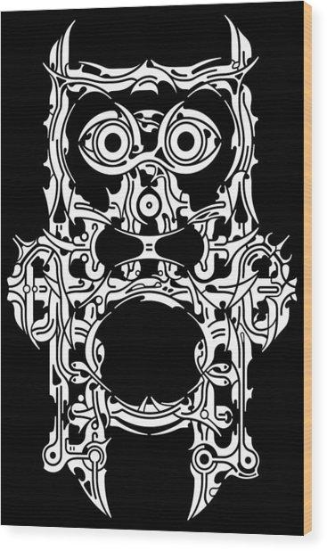 Requiem Viii Wood Print by David Umemoto