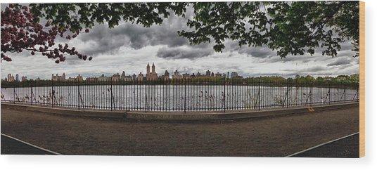 Reservoir Panorama Wood Print