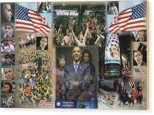 Respectfully Yours..... Mr. President Wood Print