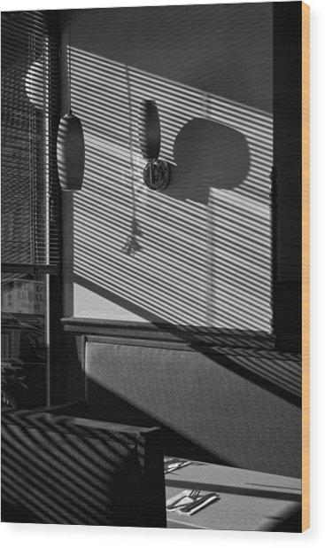 Restaurant Late Afternoon 2 Wood Print by Robert Ullmann