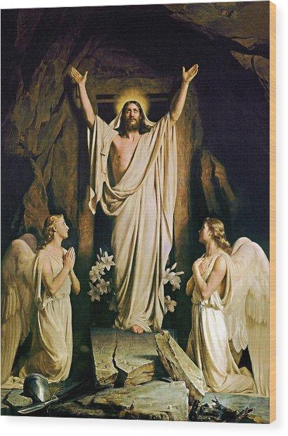 Resurrection Wood Print