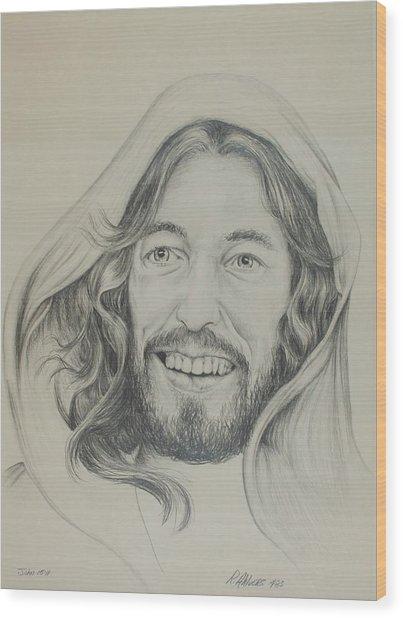 Resurrection Joy Wood Print