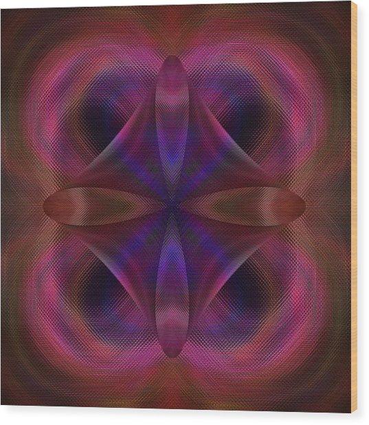 Resurrection Of The Heart Wood Print