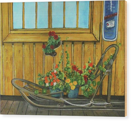 Retired Wood Print by Amy Reisland-Speer