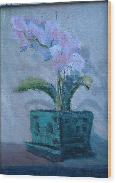 Retirement Orchid...sold Wood Print by Bryan Alexander