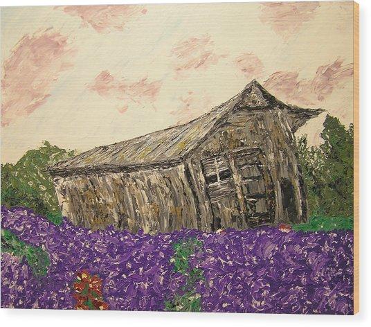 Return To Serenity Wood Print by Ricklene Wren