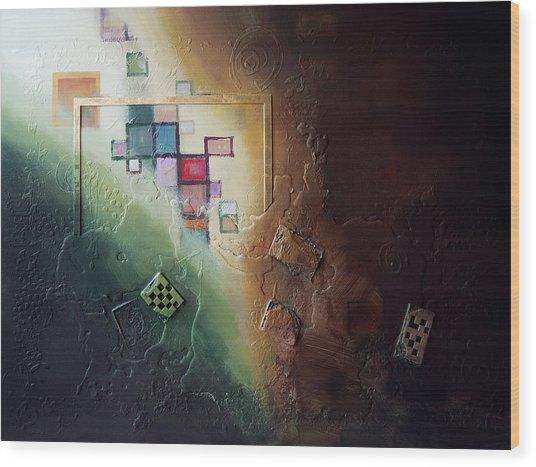 Reveal Wood Print by Farhan Abouassali