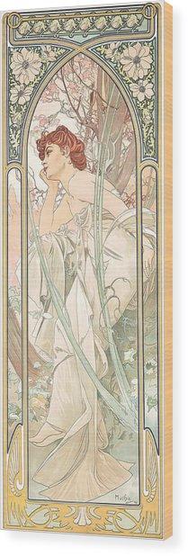 Reverie Du Soir Wood Print