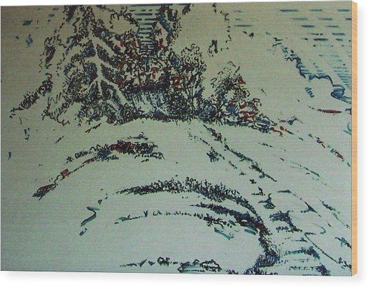 Rfb0201 Wood Print