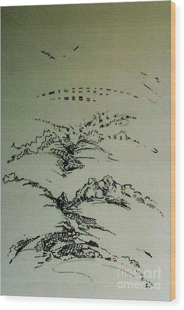 Rfb0209 Wood Print