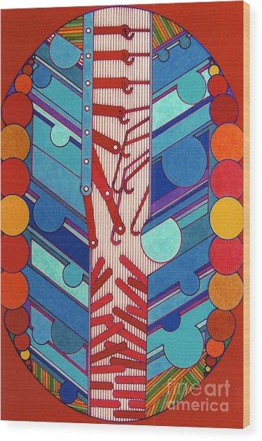 Rfb0304 Wood Print