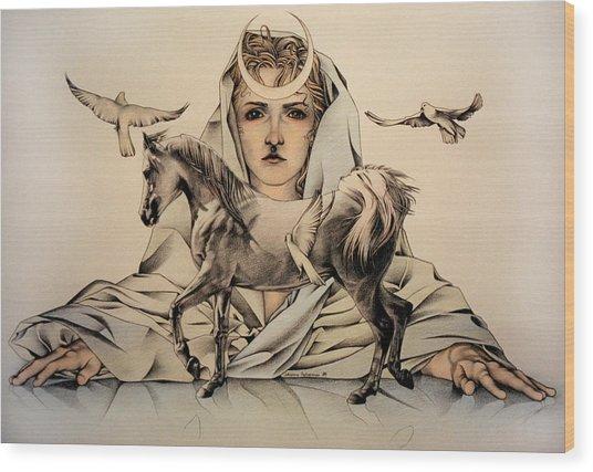 Rhiannon Wood Print
